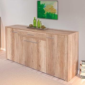 Wohnzimmer Sideboard in Wildeiche gunstig Pharao24