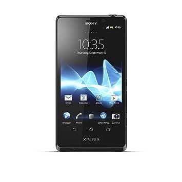 Sony Xperia T Smartphone débloqué (4.55 pouces - 16 Go) Noir (import Espagne)