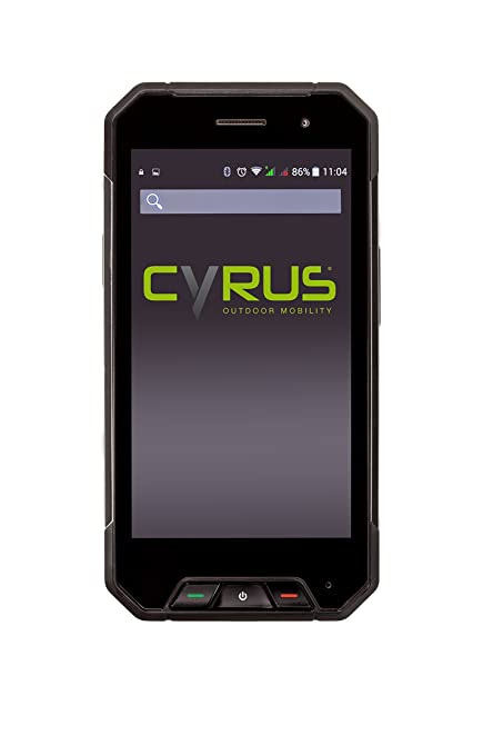 Cyrus Outdoor Smartphone CS27 LTE /4G Dual Sim débloqué logiciel original - Stoßsicher, staubgeschutzt, imperméableDual Sim