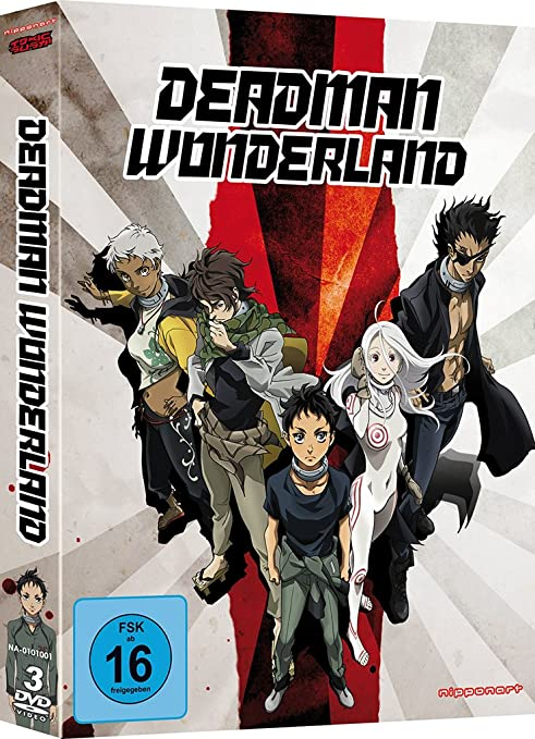 Deadman Wonderland, DVD