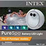Intex PureSpa Battery Multi-Colored LED Light for Bubble Spa Hot Tub Jacuzzi