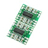 uxcell Super Mini PAM8403 2*3W D Class Digital Amplifier Board 2.5-5V USB Power 2PCS