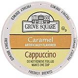 Grove Square Single Serve Caramel Cappucino Single serve cup 24 Ct for Keurig Brewers (Color: Orange)