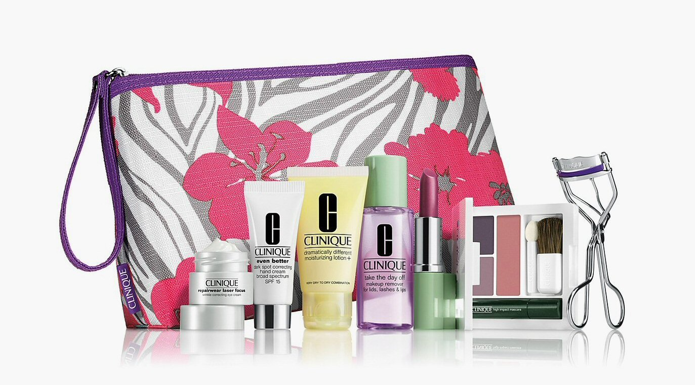 2014-Fall-Bloomingdales-Clinique-8-Pcs-Spring-Skin-Care-Makeup-Gift-Set-A-85-Value-