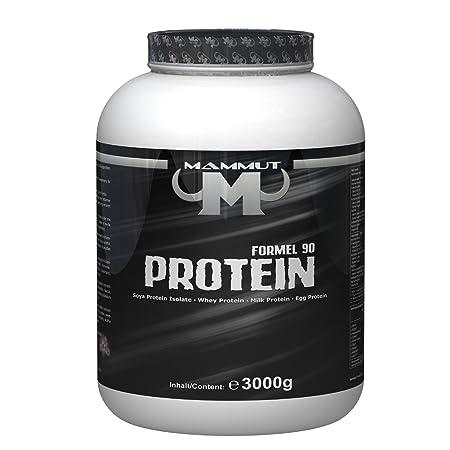 Mammut Formel 90 Protein 3000g Dose + Griffpads (Vanille)