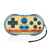 FAMILY POCKET Handheld Game Player Dual Joystick Game Entertainment, NES Classic Mini Game Console, 260 Video Games, Birthday and Children's Gifts (Color: Blue)