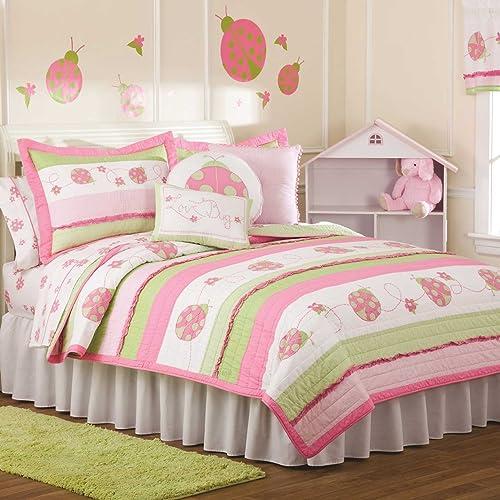 ladybug bedding totally kids totally bedrooms kids bedroom ideas