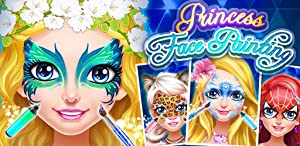 Face Paint Princess Salon - Makeup, Makeover, Dressup and Spa Games by 6677g ltd