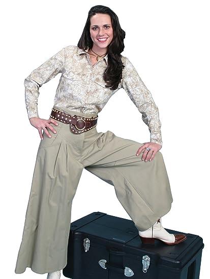 Brushed Twill Riding Pants  AT vintagedancer.com