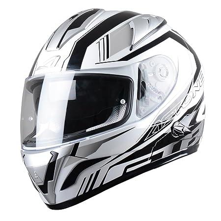 Astone Helmets GTBGEX-MIRAGE-GS Casque Intégral GTB Mirage Gris Taille S