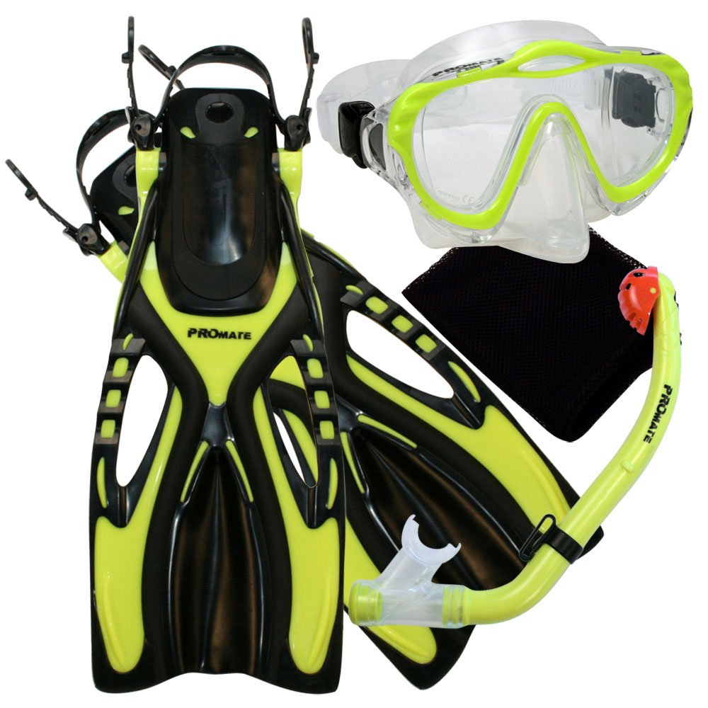Kids Snorkel Set, Kids Snorkeling Gear for Kids, The PROMATE Junior Snorkel/Scuba Set