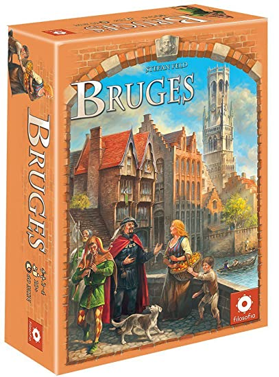Asmodee - Bru01 - Jeu De Plateau - Bruges