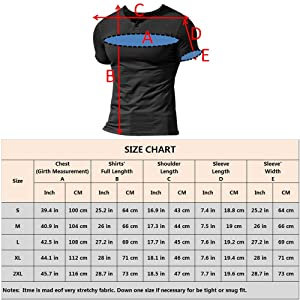 palglg Mens Short Sleeve Cotton Muscle Slim Fitted Sport Henley T-Shirt with Button Black XL