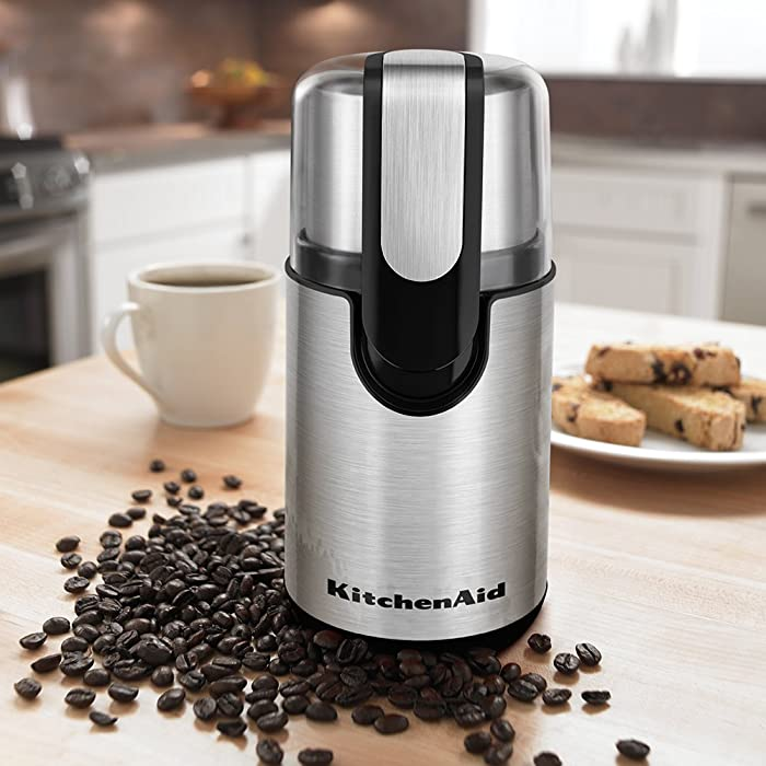 KitchenAid BCG111OB Blade Coffee Grinder Via Amazon