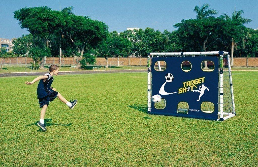 Fußballtor oder Torwand – Mini-Soccer Goal 18 Torwand – für Kinder und Jugendliche aller Altersstufen geeignet! günstig