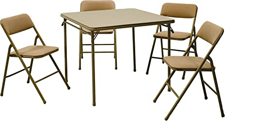 folding table chair set 3
