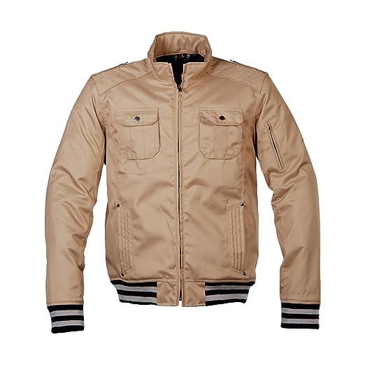 Germas 602. 22-48-s veste newport sahara au college style imperméable protektorentaschen, beige, taille s :