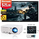 Video Projector HD LED LCD Display 200