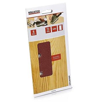 120 Schleifbänder 13 x 451 mm MIX K40-240 Schleifband Schleifpapier Powerfeile