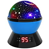 Star Sky Night Lamp and Night Light for Kids, 360 Degree Rotating Cosmos Star Projector for Kids and Babies, Beautiful Night Light Star Sky w/ LED Tim