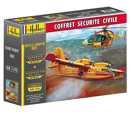 Heller - 53009 - Coffret Sécurité Civile - 204 Pièces - Echelle 1/72