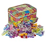 Wonder Clips Multipurpose Sewing Clips Quilting Clips with Tin Box Assorted Colors (Color: Assorted Colors)
