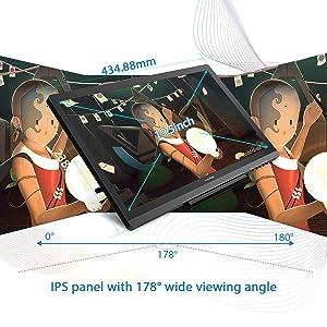 Huion Kamvas GT-191 V2 Drawing Monitor, 19 5 inch Drawing