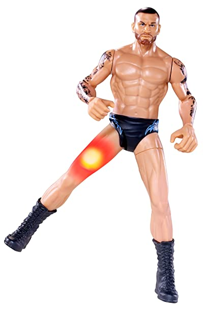 WWE - W6809 - Figurine - Flexforce Lumineuse - Swing Kickin Randy Orton