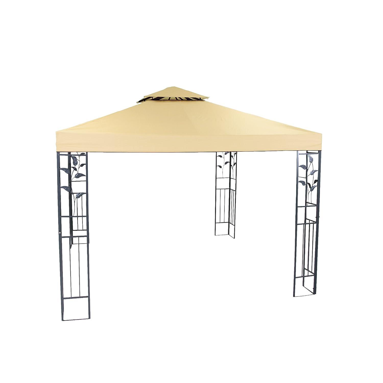 Greemotion Pavillon Livorno, Beige/eisengrau, 300x300x280cm günstig kaufen