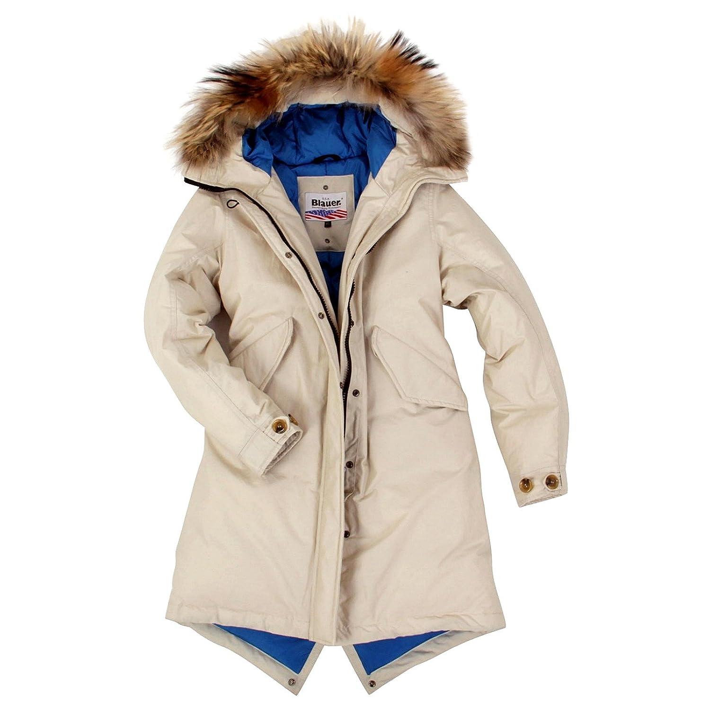 BLAUER USA Damen Winter Daunenparka Beige BLD03045 günstig online kaufen