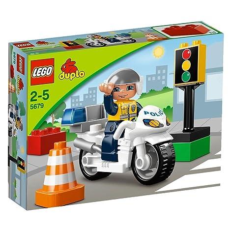 Lego - A1104337 - Moto de Police - Duplo