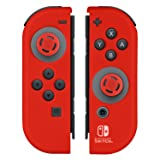 Nintendo Switch Comfort Grip Joy Con Red Gel Guards by PDP (Color: Red)