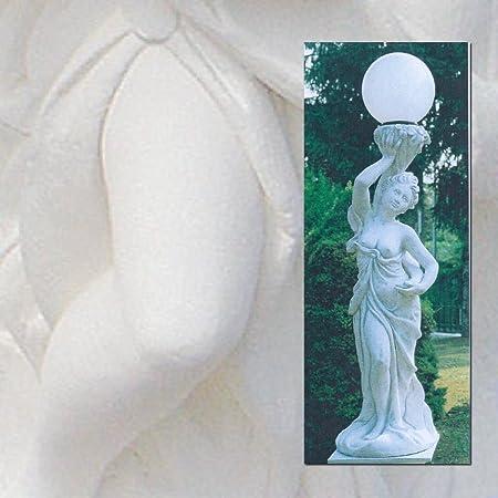 Balises de jardin femme avec lampe cm166h dans les différents coloris Antique
