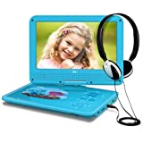 THZY Kids Portable DVD Player, Blue
