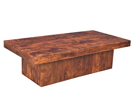 Woodkings® Couchtisch Lintley 116x57cm, Holz Akazie braun, Echtholz modern, Design, Massivholz exklusiv, design lounge coffee table gunstig