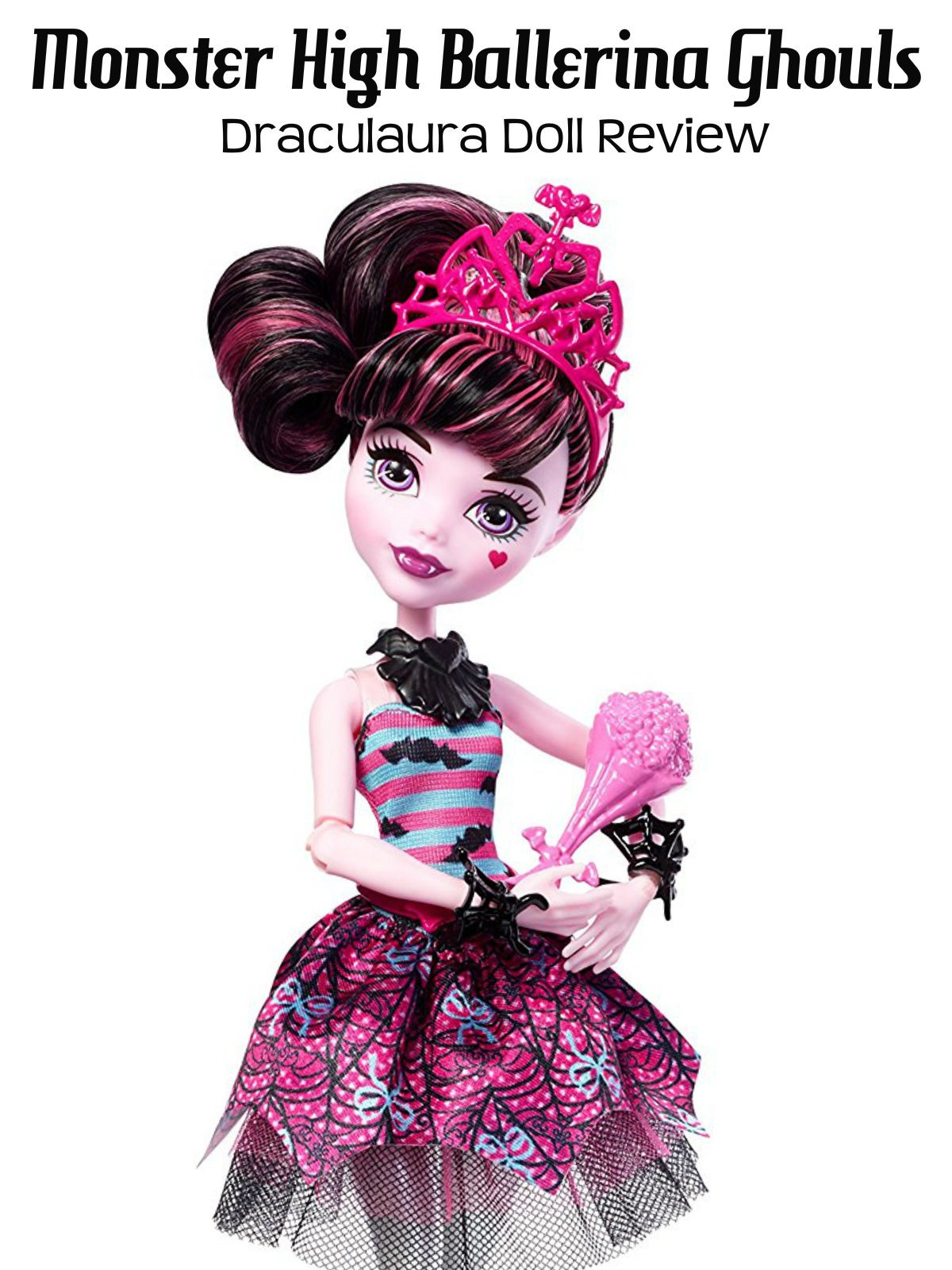 Review: Monster High Ballerina Ghouls Draculaura Doll Review