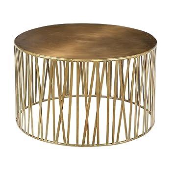 Gold Iron Coffee Table
