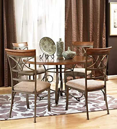 5-Pc. Hamilton Dining Set - (1) 697-413 Dining Table (4) 697-434 Side Chairs