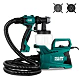 Paint Sprayer, NEU MASTER N3140 Paint Gun, Electric HVLP Spray Gun with 2 Sizes Nozzle for Home Painting Projects and Crafts (Tamaño: N3140)
