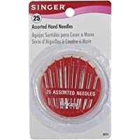 Singer 25-Count Assorted Hand Needles (Compact)
