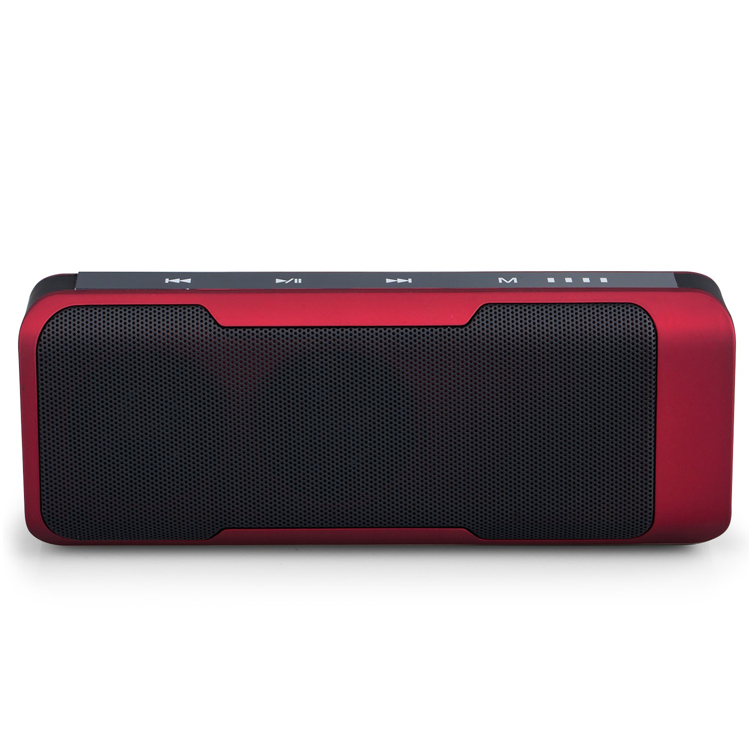 Pacuwi Portable Stereo Bluetooth Speaker Multi-function with 4000mAh Power Bank Compatible for iPhone / Android Phones & PC & iPod & MP3 / MP4, Support FM Radio / TF Card