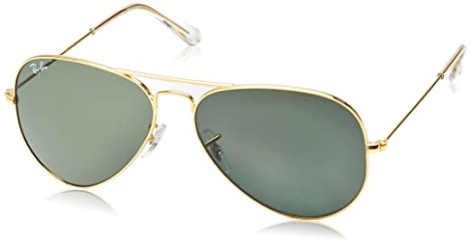 ray ban aviator sunglasses gold rb3025 l0205
