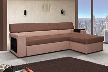 Ecksofa Rico mit Bettfunktion Eckcouch Sofa Couch 01559