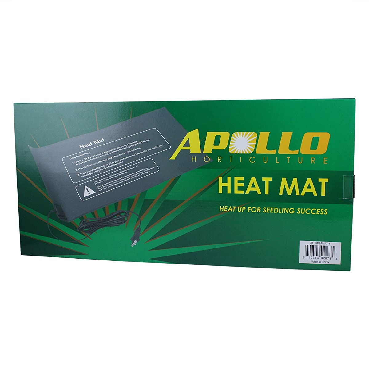 "Apollo Horticulture 9""x20"" Seedling Heating Mat for Propagation and Cloning"