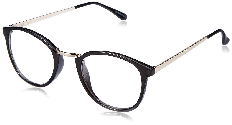 (エモダ)EMODA HALF INNER RIM伊達眼鏡 041530977201 09 BLK F : 服&ファッション小物通販 | Amazon.co.jp