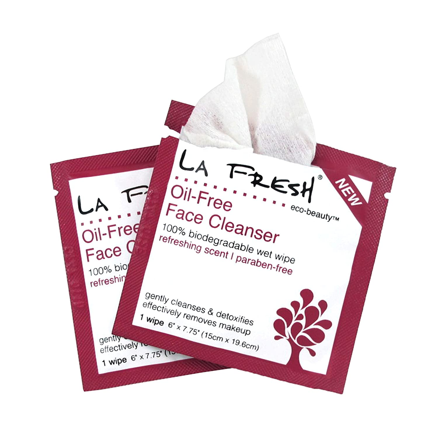 La Fresh Eco Beauty Oil-free Face Cleanser Wipes, Scented, 200 Count крем levissime armony cleanser gel oil free 250 мл