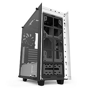 NZXT CA-S340W-W2 S340 Elite ATX Mid Tower Case, White