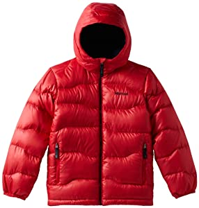 Marmot Boy's Ama Dablam Jacket, Team Red/Black, Large