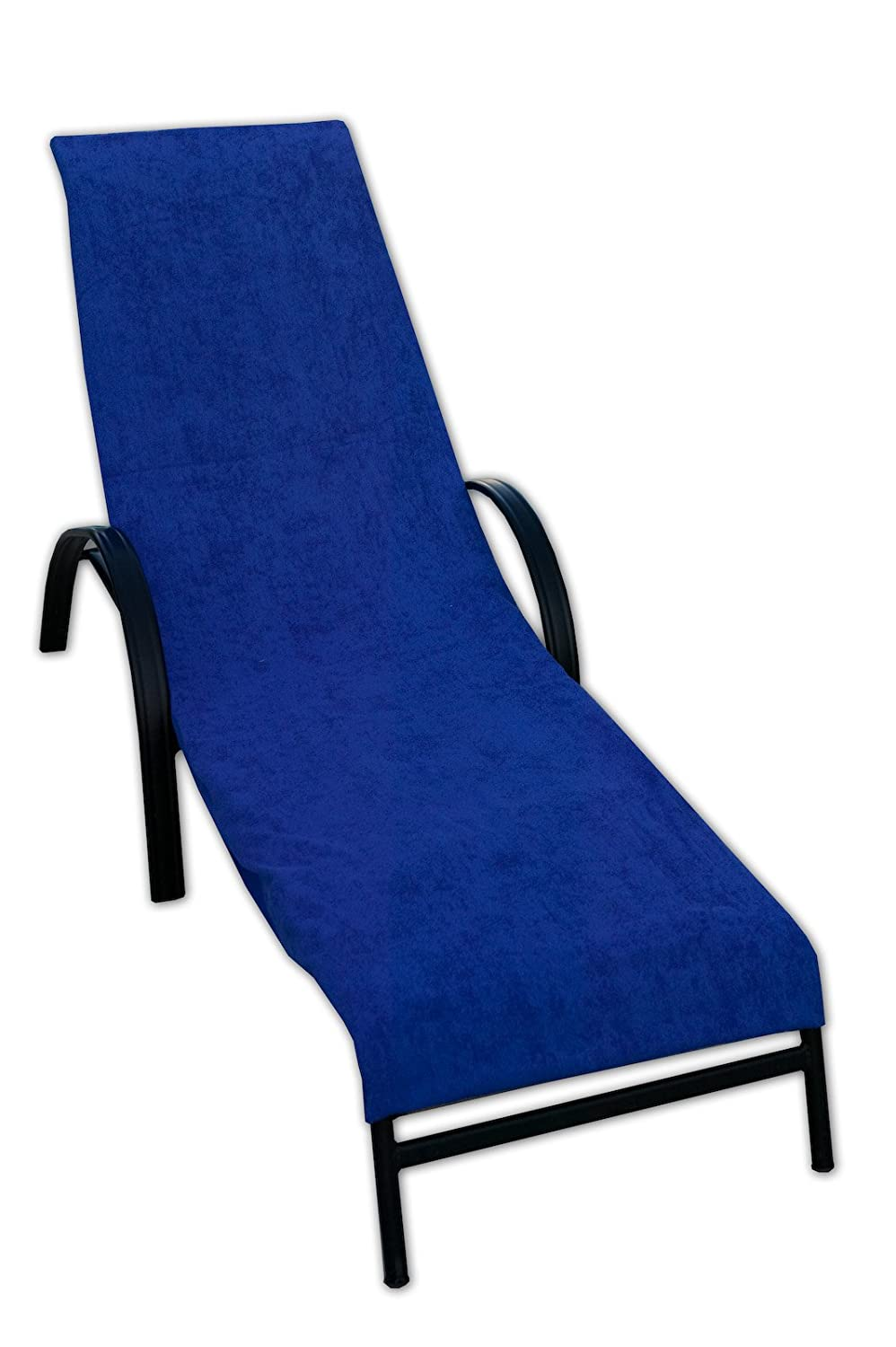Terry Lounge Chair Cover Royal Blue New Free Shipping