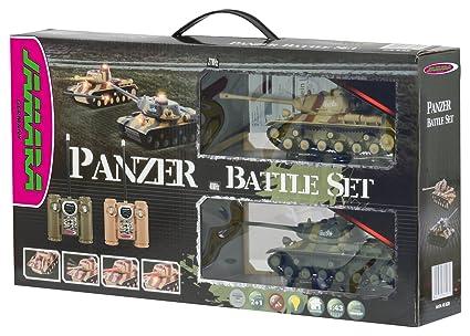 Jamara - 403630 - Maquette - Voiture - Panzer Battle Set - 6 Pièces